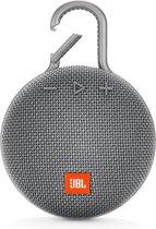 JBL Clip 3 Grijs - Draagbare Bluetooth Mini Speaker