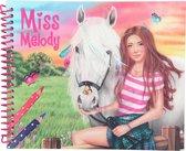 Miss Melody Dress up your Horse kleur/stickerboek