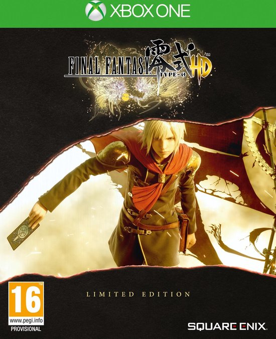 Final Fantasy Type-0 HD – Limited Edition – Xbox One