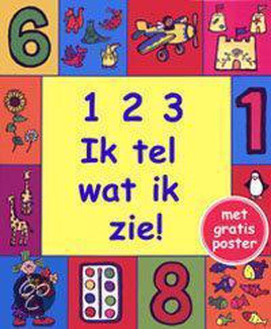 Cover van het boek '1 2 3 Ik tel wat ik zie !' van Patti Barber