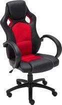 Clp Fire Gaming stoel Bureaustoel - Kunstleer - Rood
