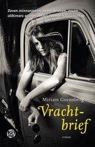 Boek cover Vrachtbrief van Miriam Guensberg