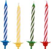 Vdm Verjaardagskaarsjes Met Houder 12 Stuks