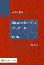 Boek cover Socialezekerheidswetgeving 2016 van P.S. Fluit