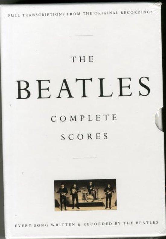 Boek cover The Beatles Complete Scores van The Beatles (Hardcover)