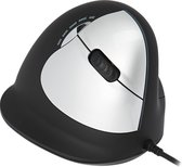 R-Go Tools R-Go HE Break Mouse, Ergonomisch muis, Anti-RSI software, Medium (Handlengte 165-185mm), Rechtshandig, bedraad
