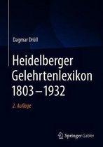 Heidelberger Gelehrtenlexikon 1803-1932