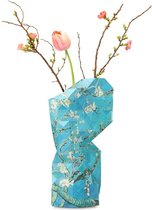 Tiny Miracles - Duurzame Design Vaas - Paper Vase Cover - Van Gogh - Almond Blossoms - Large