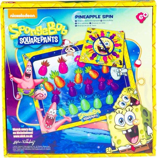 Thumbnail van een extra afbeelding van het spel Sponge Bob Ananas Draai & Twist + speelmat twister