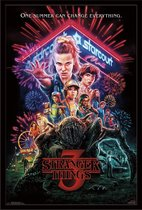 Poster Stranger Things deel 3 - Netflix Summer of 85-  61x91.5cm.