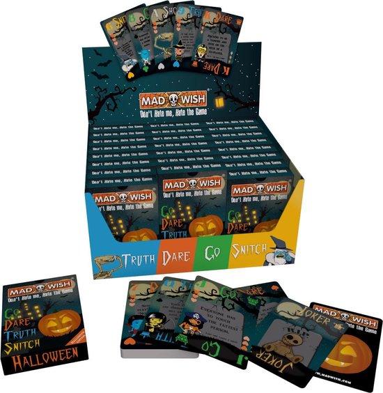 MadWish Halloween - Party Game - Drankspel - Reisspel - Party spel - Shot spel - Truth or Dare - Halloween Edition