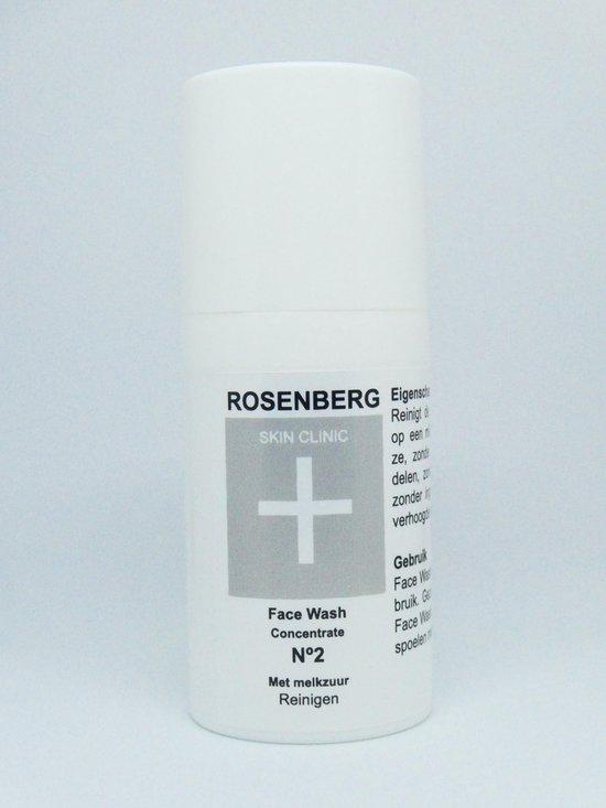 Rosenberg Skin Clinic® N2 Face Wash 30 ml PH neutral met melkzuur voor huidverbetering