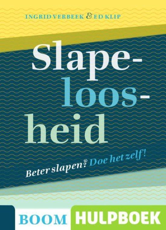 Boom Hulpboek - Slapeloosheid - Ingrid Verbeek |