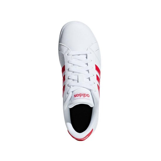 bol.com | adidas Baseline sneakers Dames wit/rood
