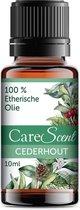 CareScent Cederhout Olie | Etherische Olie | Essentiële Olie | Geurolie | Aroma Olie | Aroma Diffuser Olie | Aromatherapie - 10ml