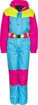 Fout Skipak 80's / Vintage Onesie Skipak / wintersport / in felle kleuren van Funky Alps