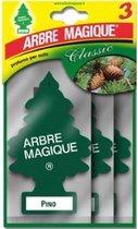 Arbre Magique luchtverfrisser Pino Tris