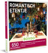Bongo  Bon België - Romantisch Etentje Cadeaubon - Cadeaukaart : 650 sfeervolle  restaurants