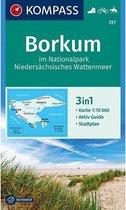 Kompass WK727 Borkum im Nationalpark Niedersächsisches Wattenmeer