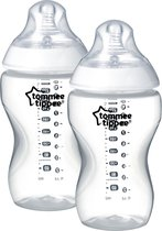 Tommee Tippee Closer to Nature Zuigfles x2 (340ml)