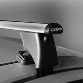 Dakdragers Mazda 2 5 deurs hatchback vanaf 2015 - Farad aluminium