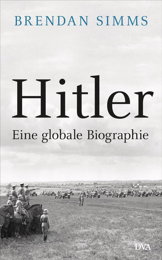 Boek cover Hitler van Brendan Simms