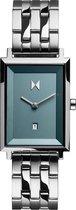MVMT horloge D-MF03-SS RVS Zilverkleurig 24 mm
