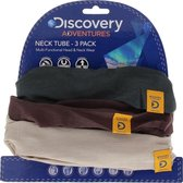 Motorkol col Oxford Discovery Adventures 3 Pack - Khaki/Brown/Taupe Edition