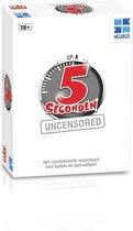 5 Seconden Uncensored - 18+ Nederlandse Uitgave - Party spel / Kaartspel