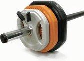Toorx Bodypump Halterschijven - per 4 stuks - 4x 1.25 kg grijs