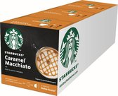 Starbucks® Caramel Macchiato koffie cups by Nescafé® Dolce Gusto® - 3 x 12 capsules