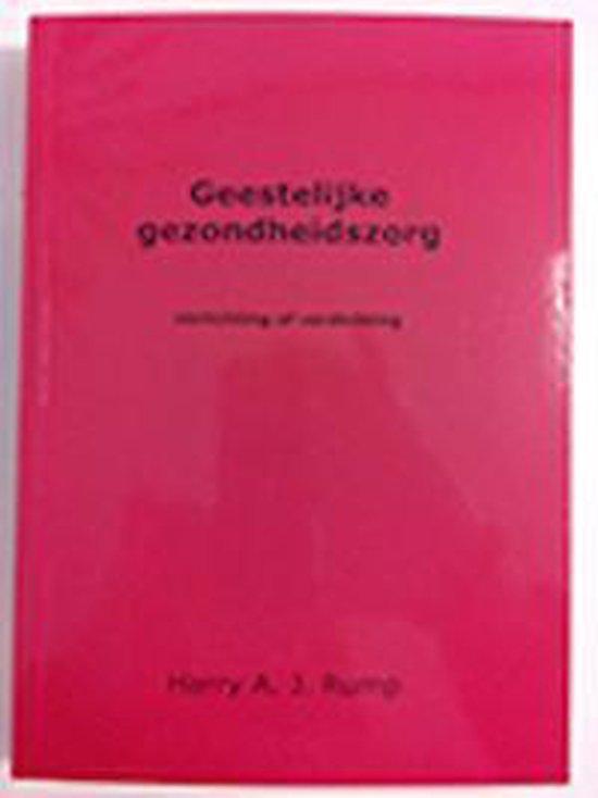 Geestelijke gezondheidszorg - Harry A.J. Rump pdf epub