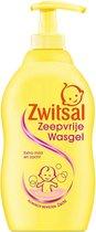 Zwitsal Zeepvrije Wasgel Pomp - Voordeelverpakking 6 x 400 ml