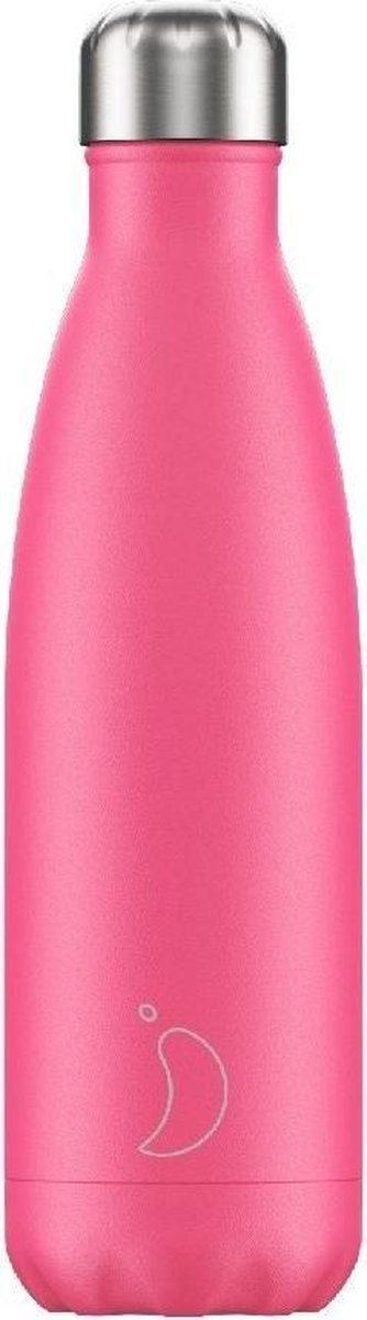 Chilly's Bottle Drink- & Thermosfles Neon Roze - Chilly's Bottles