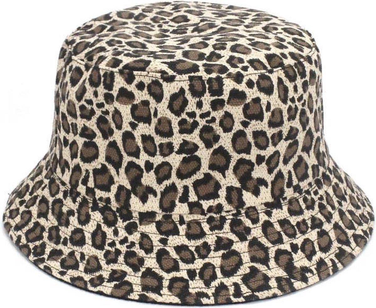 Bucket Hat Luipaard Panterprint