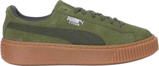 bol.com | Puma Sneakers Suede Platform Animal Dames Groen ...