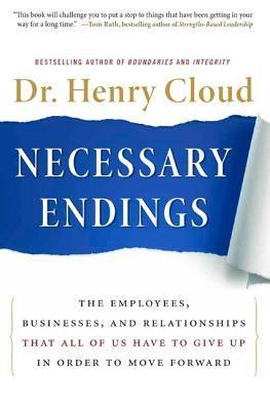 Cloud, Neccesary endings - Dr. Henry Cloud |