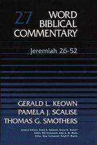 Boek cover Jeremiah, 26-52 van Gerald Keown