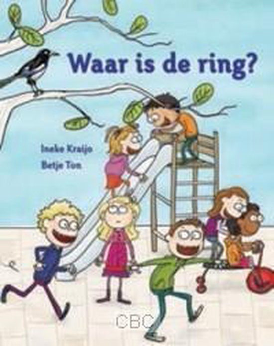 Boek cover Waar is de ring? van Ineke Kraijo (Hardcover)