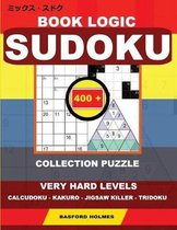 Book logic Sudoku. 400 collection puzzle.