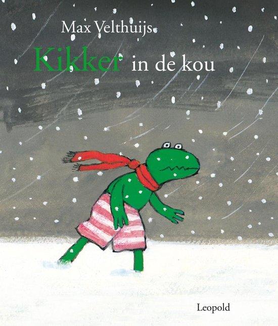 Boek cover Kikker in de kou van Max Velthuijs (Onbekend)
