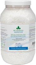 Ré-genesis Magnesium Badkristallen Vlokken – Magnesium Badzout – Voetbadzout - 2,5 kg