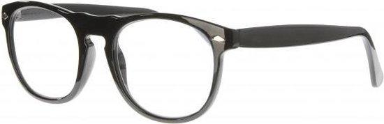 Icon Eyewear NCB002 Luciano Leesbril +1.00 - Glanzend zwart