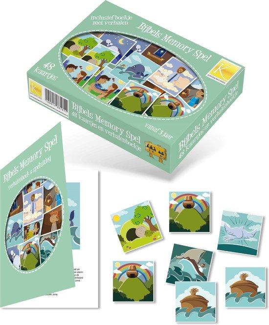 Nieuw bol.com | Spel, Bijbels memo spel incl. verhalenboekje | Games GV-38
