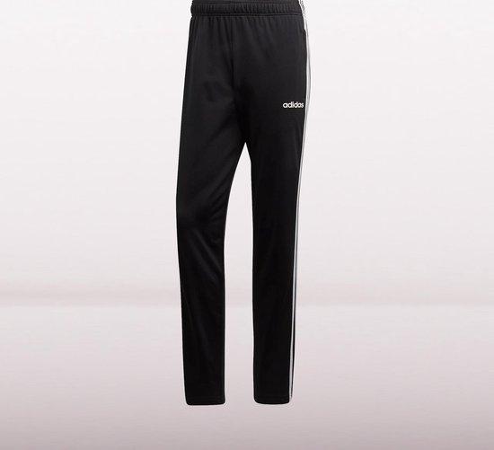 adidas Essentials 3S T Pant Tricot Heren Broek - Black/White - Maat S