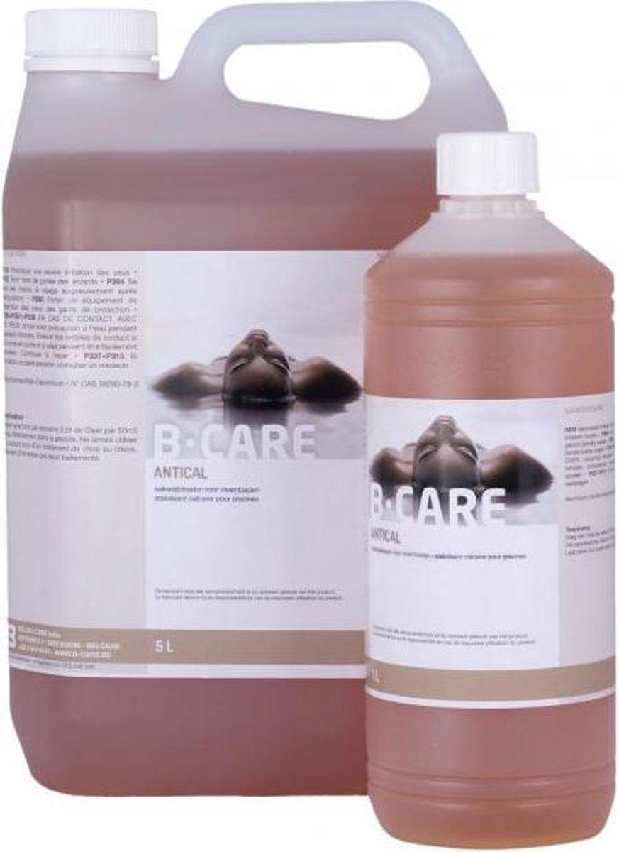 B care Anti kalk 1 Liter / Anti cal zwembad /jacuzzi /wellness