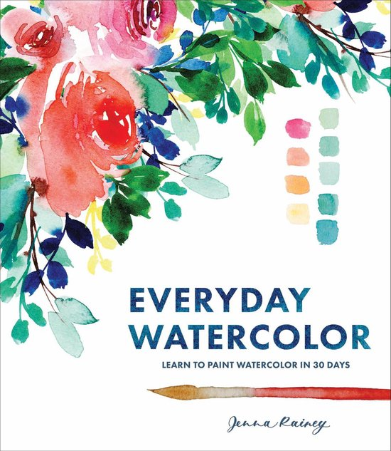 Boek cover Everyday Watercolor van Jenna Rainey (Paperback)