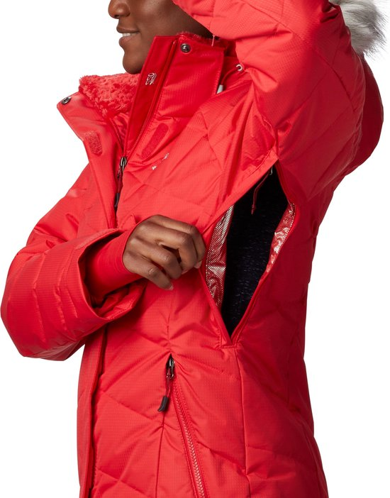 Columbia D Down Jacket Dames Skijas Paars Maat L www