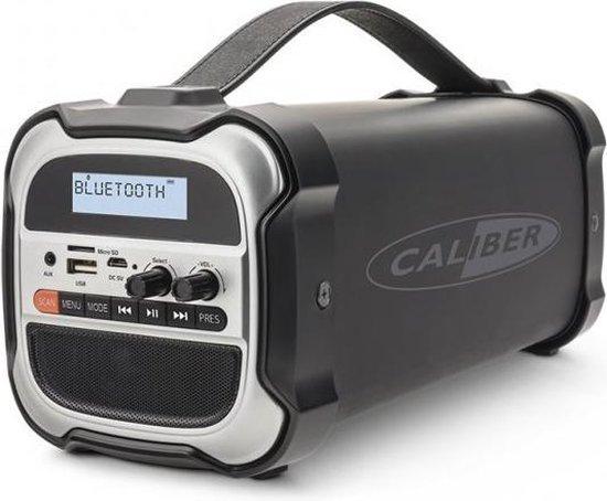 Caliber HPG525DAB-BT - Bluetooth speaker draadloos - DAB+ FM