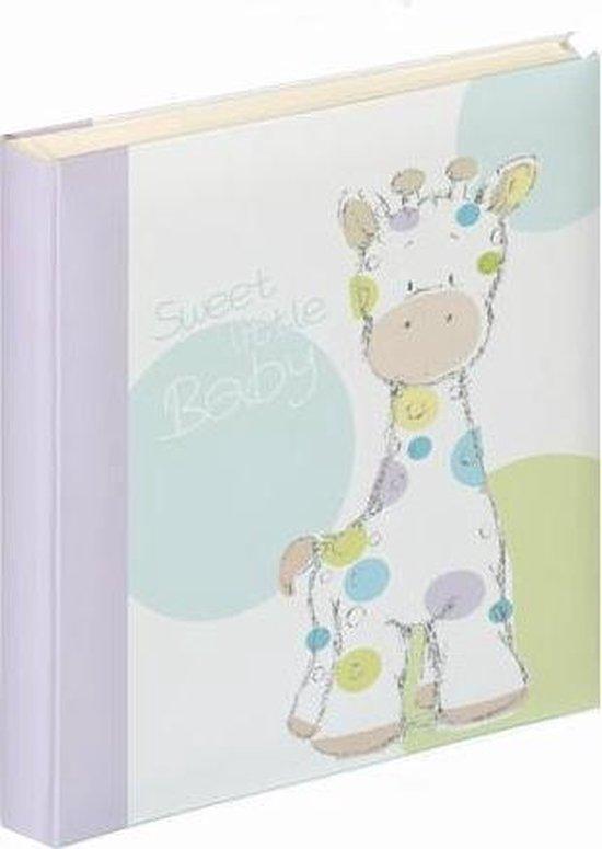 Walther Design UK-142 Baby Giraffe - Babyalbum - 28 x 31 cm - Wit - 50 pagina's